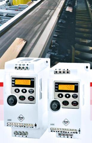 frekvenční měniče Standard A550